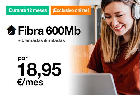 Fibra 600 Mb