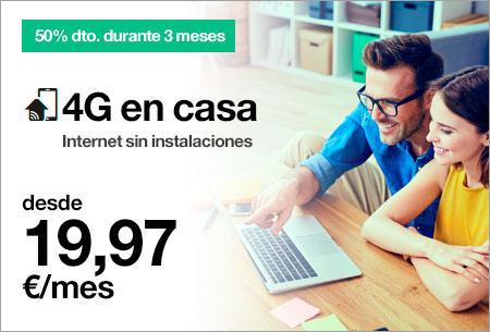 Nuevo 4G en Casa