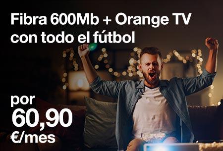 ¡La combinación perfecta a un precio único! Disfruta del todo el Fútbol, Cine y Series a la mayor velocidad