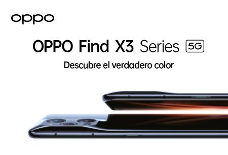 OPPO Find X3 Series 5G desde 10€/mes ¡Descubre el verdadero color con la nueva gama de OPPO!