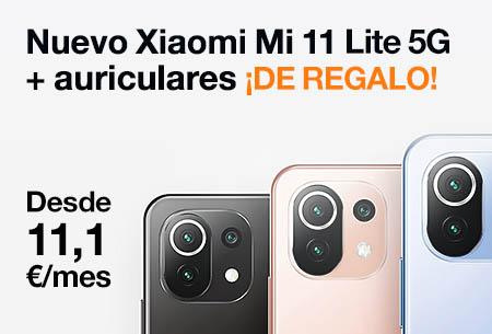 Hazte con el nuevo Xiaomi Mi 11 Lite 5G y llévate unos Mi True Wireless Earphones 2S ¡de regalo!
