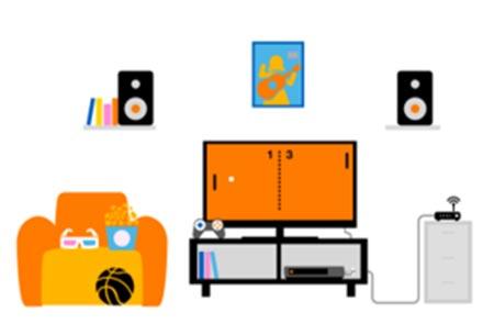 Conecta por cable los dispositivos que generan mucho tráfico, como Smart TV o consolas, para dejar tu red WiFi más libre