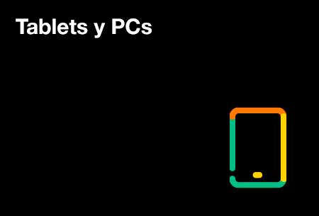 Disfruta de tablets de las mejores marcas