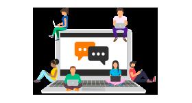 Comparte, colabora y ayuda a través de nuestra Comunidad Orange