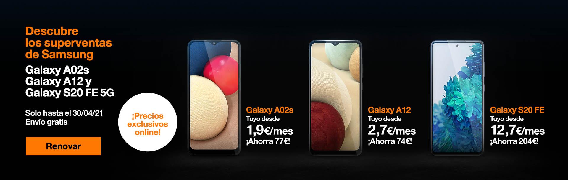 ¡Aprovecha nuestros descuentos y novedades en toda la gama Samsung! Solo hasta el 30/04/21
