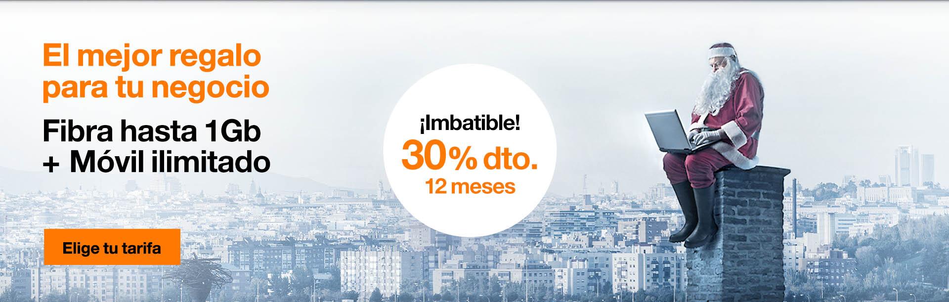 Fibra con móvil desde solo 35,2 €/mes, 20% de descuento durante 12 meses