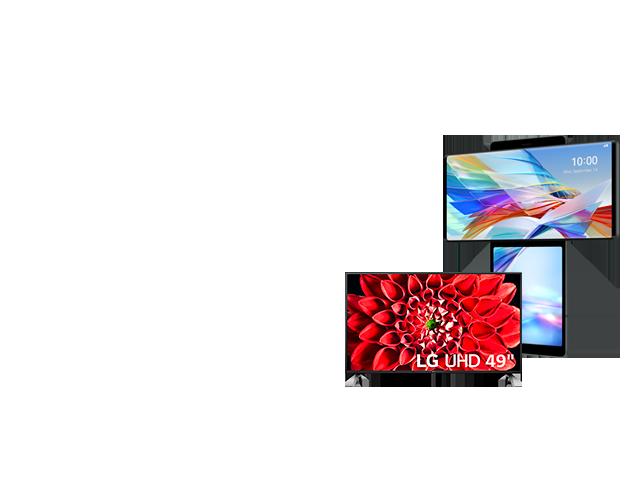 LG Wing + Smart TV