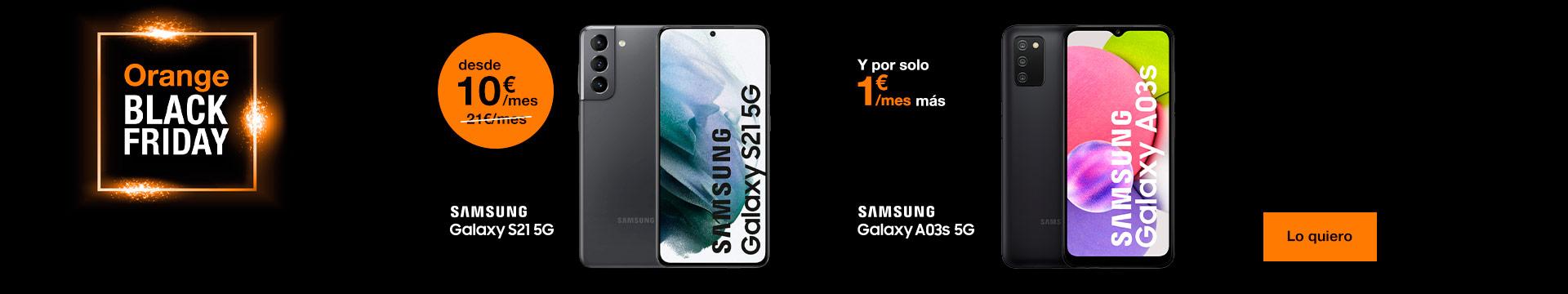 Es momento de estrenar Samsung con Orange