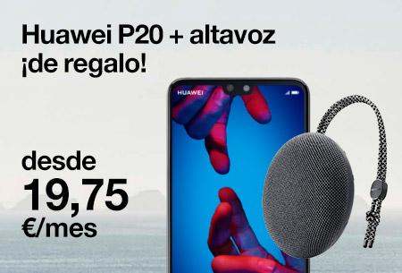 Hazte con este Huawei P20 Pro + altavoz de regalo desde 19,75 €/mes