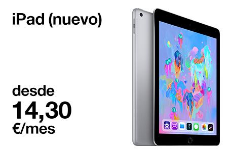 Llévate este nuevo iPad desde 14,30 €/mes