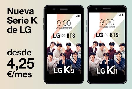 Así es nuestra nueva serie K de LG desde 4,95 €/mes