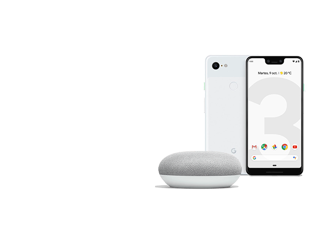 Google Pixel 3 + Google Home Mini