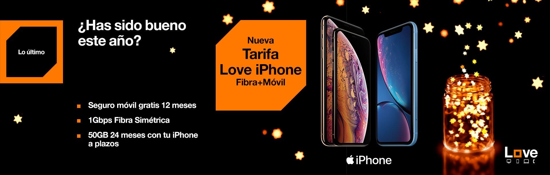 Hazte ahora con la nueva tarifa Love iPhone