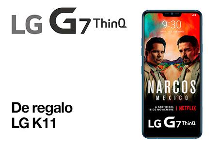 Renueva ahora y llévate un LG G7 con un LG K11 de regalo