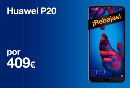 Llévate un Huawei P20 por 409 €. ¡Un gran precio!