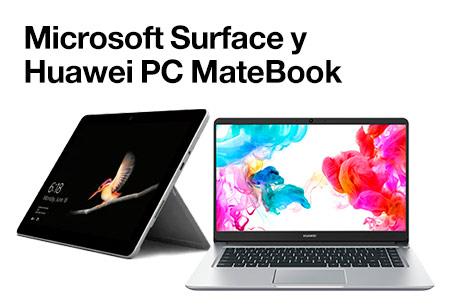 Surface + Huawei MateBook