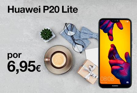 Consigue ahora un Huawei P20 Lite por 6,95 €/mes y sorprende en el Día del Padre