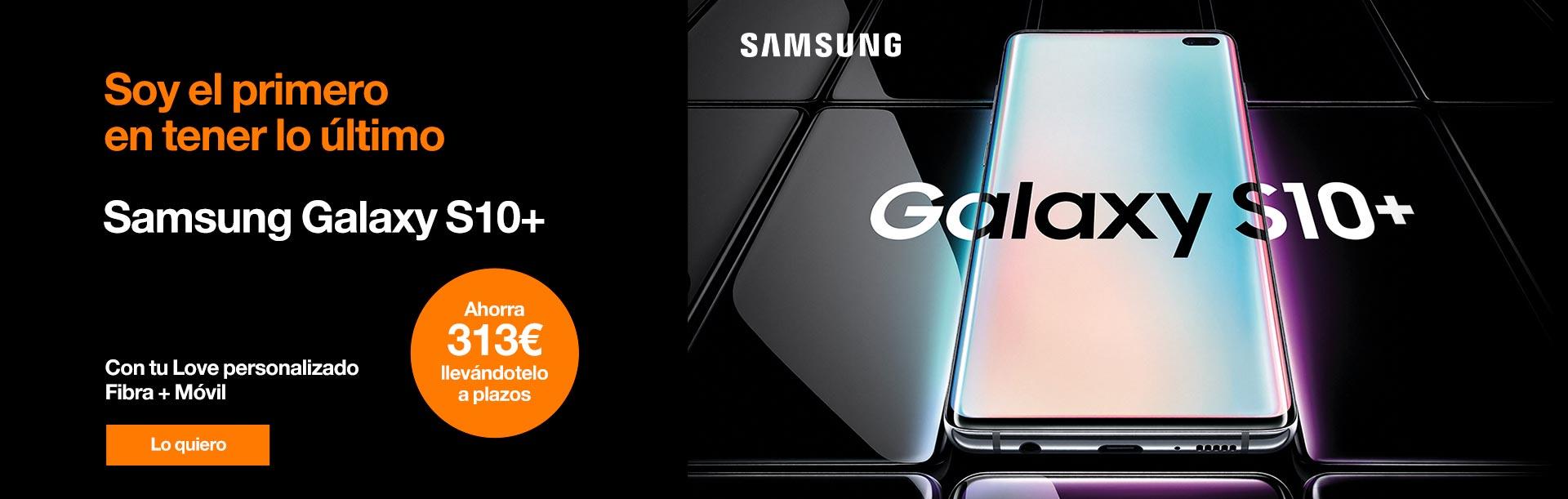 Hazte ahora con el nuevo Samsung Galaxy S10 y ahorra 313 € llevándotelo a plazos