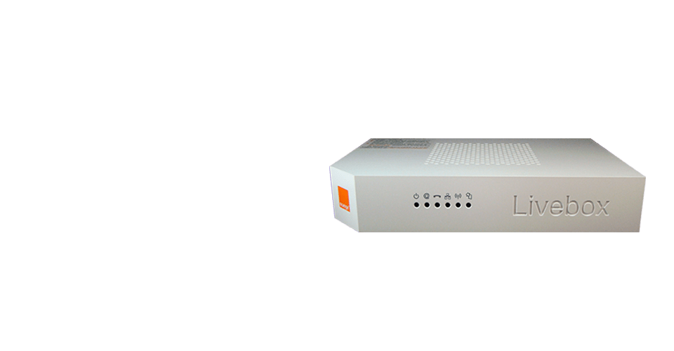 Imagen Modelo Router Livebox 2.1