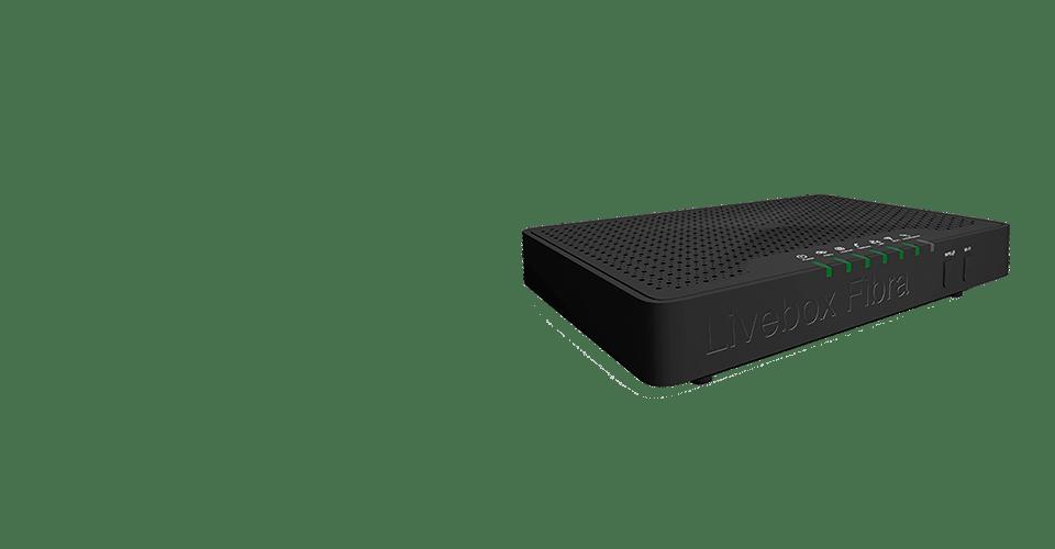 Imagen Modelo Router Livebox Fibra