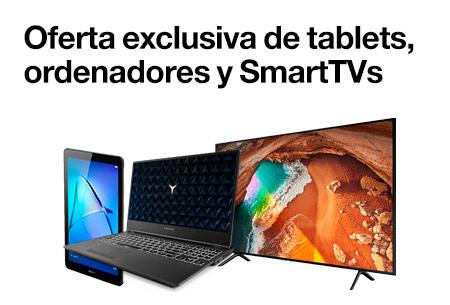 Tablets, ordenadores y smartTVs
