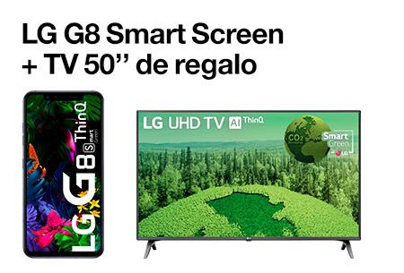LG G8 Smart Screen + TV 50