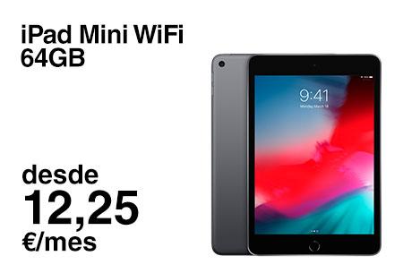 Si eres cliente, renueva ahora por un iPad Mini WiFi 64 GB desde 12,25 €/mes