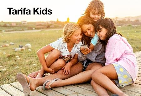 Llévate la tarifa Kids por solo 8,95 €/mes