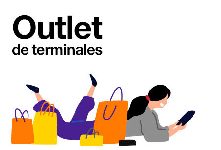 Outlet de terminales Orange