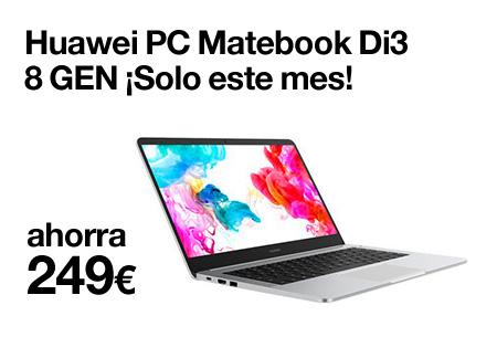 Renueva ahora por un Huawe PC Matebook y ahórrate hasta 249 €