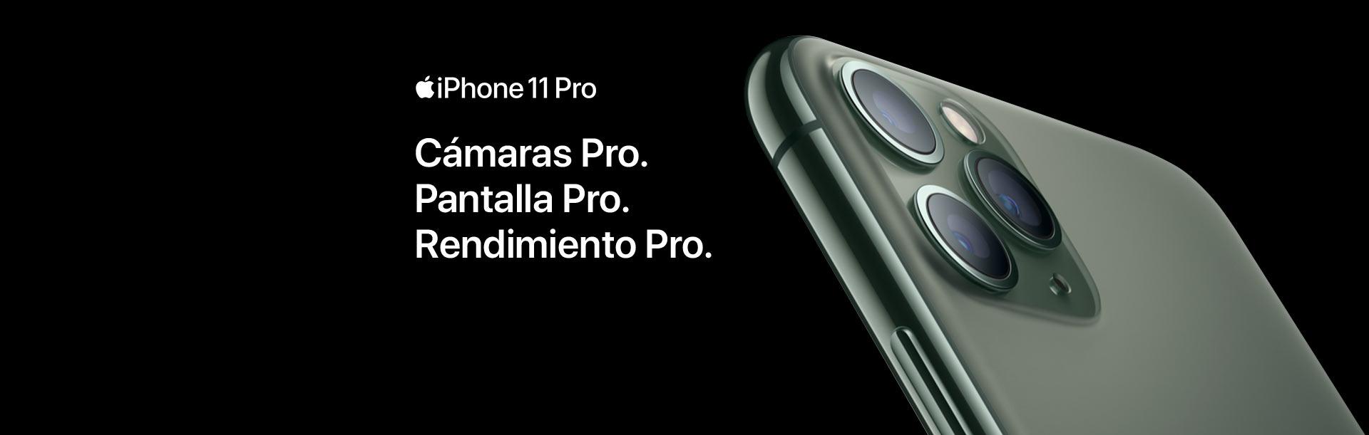 Compra ya el nuevo iPhone 11 Pro y descubre todo lo que te ofrece