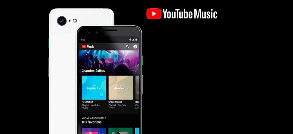 YouTube Music - Entra en el mundo de la música. Todo está aquí.