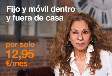 Contrata ahora la tarifa Mi Fijo desde 12,95 €/mes con Orange