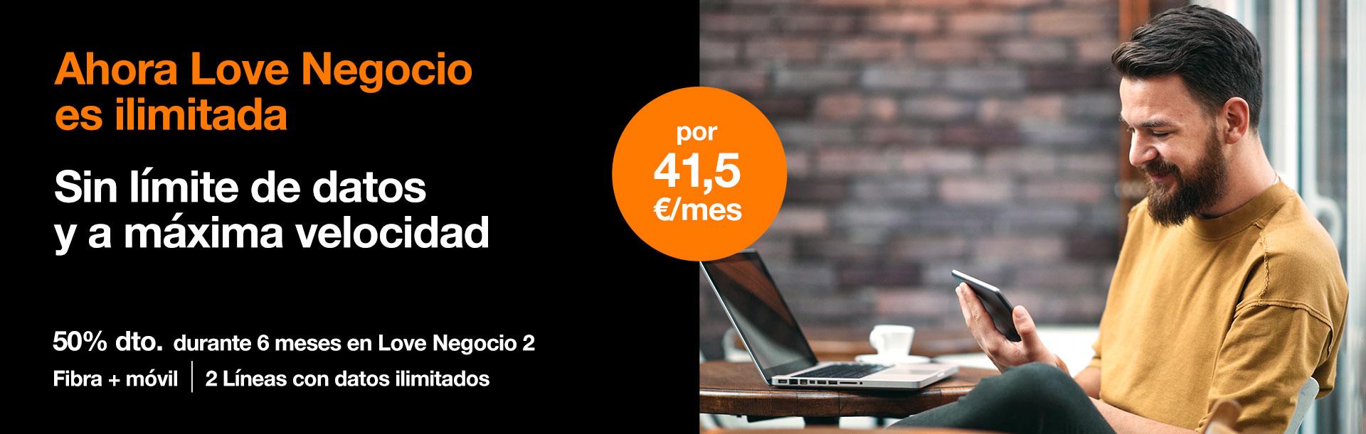Disfruta de nuestras tarifas sin límite de datos y con navegación a la máxima velocidad con Orange
