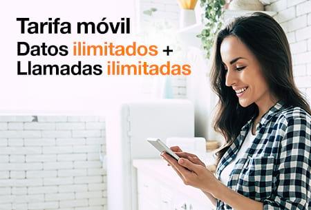 Nueva tarifa Go Top por solo 23,98 €/mes durante 12 meses con Orange