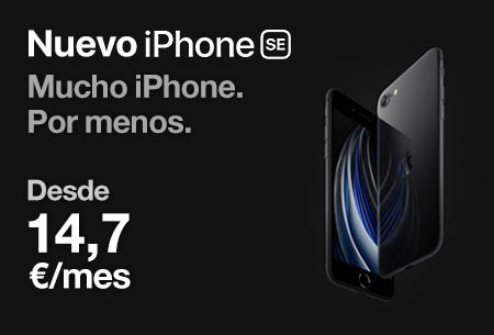 Nuevo iPhone SE desde 14,7 €/mes