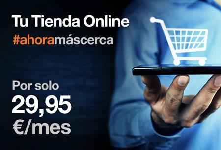Transforma tu negocio, vende en Internet y crea tu tienda online desde 29,95 €/mes