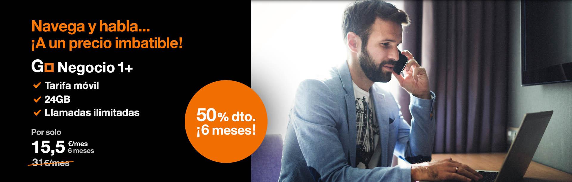 Go Negocio 1+ ¡a un precio imbatible! con Orange