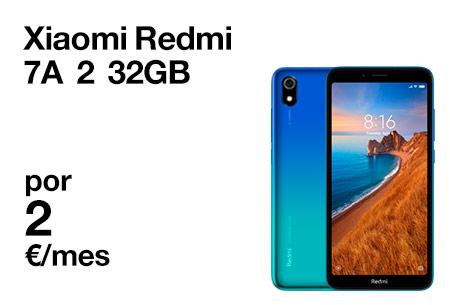 Disfruta del Xiaomi Redmi 7A con Orange