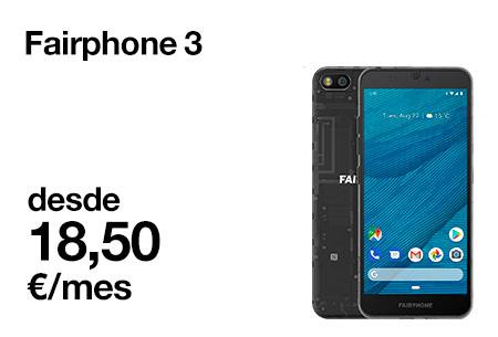 Descubre el Fairphone 3 con Orange