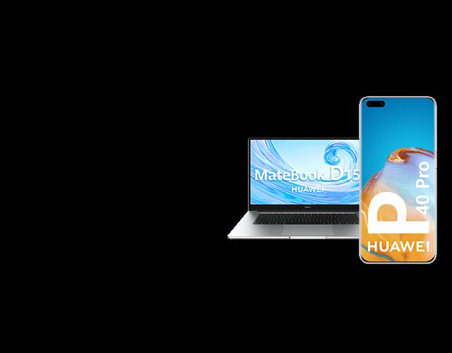 Huawei P40 Pro + Matebook
