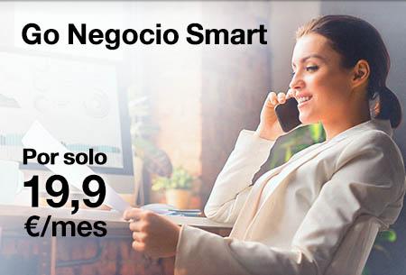 Go Negocio Smart: 1 línea móvil, llamadas ilimitadas + 20 GB por 19,9 €/mes