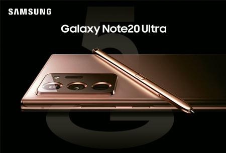Descubre el nuevo Samsung Galaxy Note20 Utra con Orange