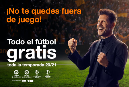 Prepárate para la vuelta al fútbol con Orange