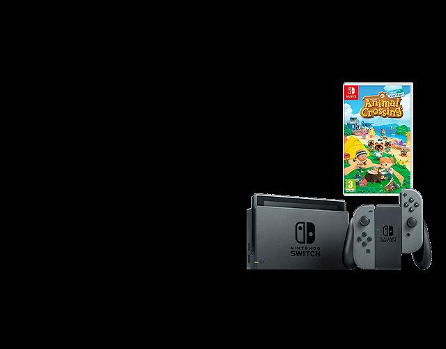 Nintendo Switch HW + ¿Animal Croosing