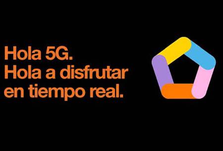 Hola 5G. Hola a disfrutar en tiempo real