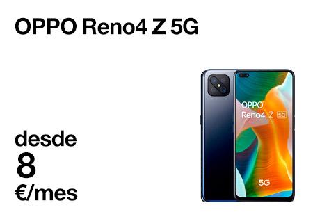 Descubre el OPPO Reno4 Z 5G. Con cámara cuádruple 48MP, pantalla 6,57