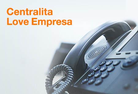 Centralita Love Empresa: Incrementa la productividad, mejora la imagen de tu negocio y ahorra en costes. 41 €/mes con tu Love