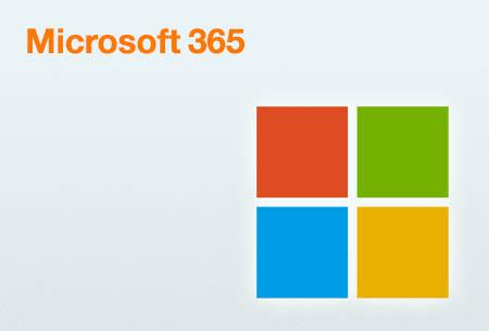 Microsoft 365: con las mejores aplicaciones de Microsoft. Incluido con tu Love Empresa 3, 5, 10 y 20.