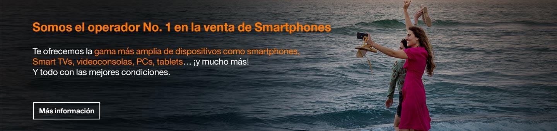 Imagen sobre dispositivos de Orange.es